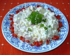 Jarní salát :: Domací kuchařka - vyzkoušené recepty Grains, Rice, Food, Fitness, Piglets, Essen, Excercise, Yemek, Health Fitness