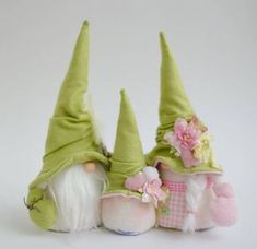 Christmas gnomes . Family of gnomes. Wedding gnomes
