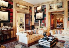 Luxurious, traditional New York City apartment