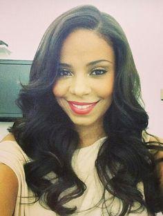 @Sanaa Lathan hair & makeup FAB