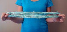 tangled happy: Finishing Your Hand Spun Yarn