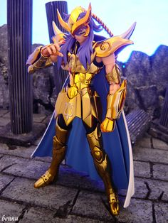 Scorpio Gold Saint