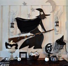 decoración pared hallowen