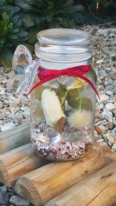 Centrepiece wedding jar