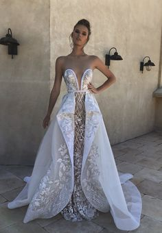 Dazzling Lorenzo Rossi Bridal Collection Wedding Dress