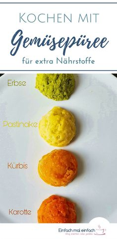 Cooking with vegetable puree - Healthy Food Ideas Healthy Vegetables, Veggies, Vegetable Puree, Picky Eaters, Brown Sugar, Kids Meals, Healthy Recipes, Healthy Food, Food And Drink
