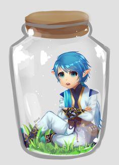 O Ezarel é tão irritante e lindo ao mesmo tempo que dá vontade de guardar   ele em um potinho..