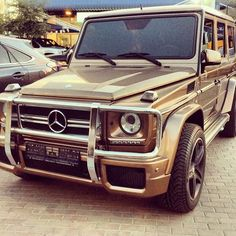 Gold G Wagon