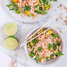 Mango Recipes, Healthy Recipes, Healthy Cooking, Asian Recipes, Vegetarian Recipes, Healthy Meals, Healthy Eating Quotes, Mango Salad, Food Inspiration
