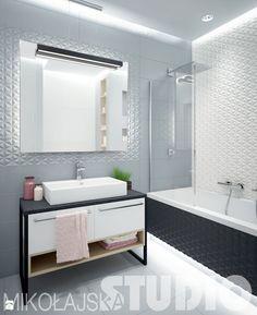 Aranżacje wnętrz - Łazienka: art-deco łazienka - MIKOŁAJSKAstudio. Przeglądaj, dodawaj i zapisuj najlepsze zdjęcia, pomysły i inspiracje designerskie. W bazie mamy już prawie milion fotografii!