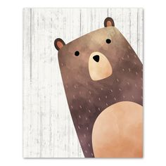 Woodland Bear Wall Art
