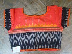 Blouse Designs High Neck, Cotton Saree Blouse Designs, Hand Work Blouse Design, Simple Blouse Designs, Blouse Neck Models, Black Saree Blouse, Designer Blouse Patterns, Collor, Textiles