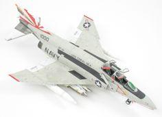 F-4B Phantom II 1/48 Scale Model