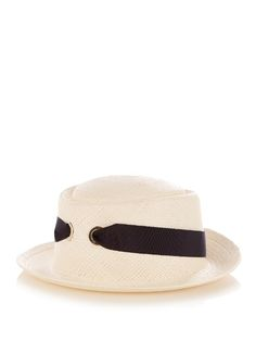 FEDERICA MORETTI Panama straw hat.  federicamoretti  hat d3b3e3a4fada