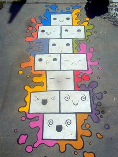Meme-Hopscotch / Meme-Rayuela by Johnny-Aza on DeviantArt Playground Painting, Playground Games, Backyard Playground, Backyard Games, Games For Kids, Activities For Kids, Crafts For Kids, Field Day Games, Sidewalk Paint