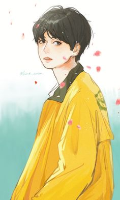 Jungkook || FanArt ♡ Anime, Art, Kunst, Cartoon Movies, Anime Shows, Anime Music, Gcse Art, Sanat