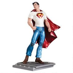 Superman The Man of Steel: Metallic Finish Statue by Rags Morales