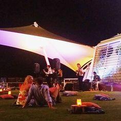 We sat on the lawn under Caribbean stars in the port of Sint Maarten while the band was playing good music. Loving the 15th deck on #CelebrityEquinox.  #celebritycruises #cruise #ship #modernluxury #häämatka #honeymoon #caribbean #karibia #loma #travel #matka #reissu #nordicnomads #risteily #laiva (via Instagram)