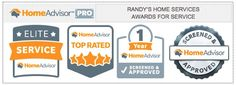 Randy's Home Services - Home Advisor Awards