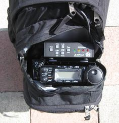 In depth article about setting up a pack-radio