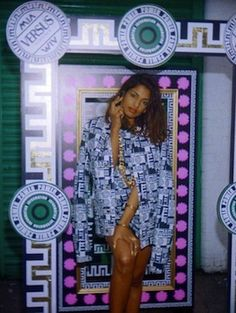 M.I.A for Versus Versace