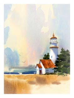 Lighthouse.  Anyone know the artist?