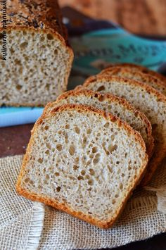 No Yeast Bread, Breakfast For Dinner, Banana Bread, Bakery, Good Food, Cooking Recipes, Homemade, Food And Drink, Eat