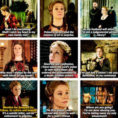 """Don't try to school a professional, Henry."" - Queen Catherine of Reign is the legit Queen of Sass"