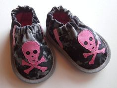 Love these little pirate shoes for my little pirate baby!