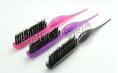 3 color Professional Plastic Teasing Comb Hair Brush Slim Line Styling Brushes new tangle Comb escova de cabelo