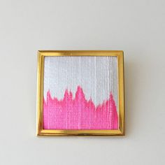 embroidered brooch from etsy