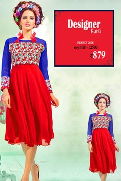 Red Embroidered #DesignerKurti Look stunning in this #embroideredkurti from the house of #Amafhh. Pair it up with denims, leggings and churidar trousers and create a new look ever so often. #womanwear #casualwear #shopping #casualoutfit #dailywear #newdesigns #onlinekurti #thechoiceisyours