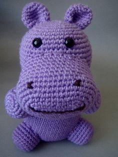 Natural  Purple Hippopotamus by sabahnur on Etsy,