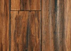 Antique Strand Bamboo from Lumber Liquidators—twice as hard as oak
