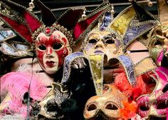 Mardi Gras Masks in New Orleans  7x5 Fine by HPaquinPhotography on etsy.