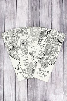Set of 5 Creative Expressions of Faith Coloring Bookmarks #CLRB02
