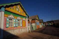 Tarbagatai, an Old Believer village outside Ulan Ude in Buryatia.