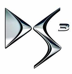 "2010 Citroen DS3 Racing ""DS3"" logo."