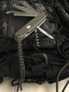 Vintage Victorinox Swiss Army Stag Hunter Knife 108 Mm New