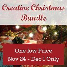 Creative Christmas Bundle Projects and ideas from 15 crafters and designers.