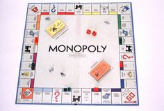 Monopoly Board Game - Loved to play for hours, and would often pick up where we left off by writing down who had what! It was a big deal to get to the point of owning houses or apartments!