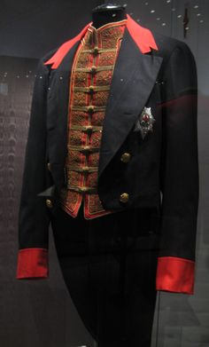 Nicholas II of Russia's tailcoat of the Order of the Garter.