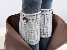 10 Hot and Free Boot Cuff Patterns to Make Today!