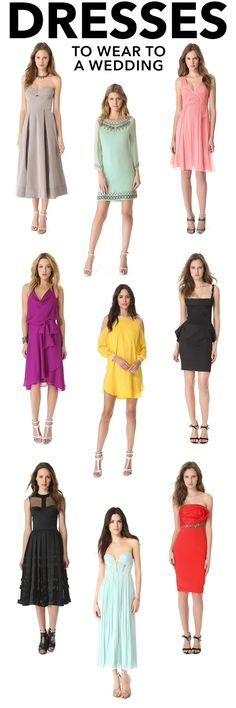 dresses to wear to a wedding - Acceptable Colors To Wear To A Wedding