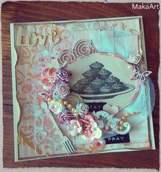Card *Love, Eat, Pray...*