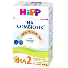 This product is not expired and the expiration date is 05/2022 or Later Content weight: 1.32 lb (600 grams) per box - From the 6 months of age A nutritionally complete, whey based, gentle infant milk. HiPP Hypoallergenic (HA) Infant Formula brings you the purest, most nutritious infant formula for newborn babies after the 6th month. If your infant's tummy is especially sensitive, then HiPP Hypoallergenic (HA) Combiotic is the Formula you need. HiPP HA is the first organic product that is… Calcium Citrate, Calcium Carbonate, Omega 3, Hipp Baby, Milk Protein, Protein Diets, Rapeseed Oil, Pantothenic Acid, Calla Lilies
