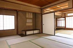 interior of Oukoku Bunko's former Japanese style residence