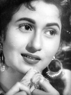 she is so beautiful i didn';t know what photo to pin the epitome of beauty & the venus of indian cinema Madhubala beauty grace elegance personified