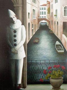pedrolino o Pierrot - Rosalind Lyons Hudson