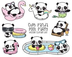 Unbelievable Premie-Vector-Clip-art – Kawaii-Panda – shady Panda Pool-Occasion-Clip-art – Pool Occasion – Prompt Obtain – Kawaii Clipart Informations About Art Drawing charcoal Pin You can. Panda Kawaii, Niedlicher Panda, Cute Panda, Kawaii Drawings, Cute Drawings, Animal Drawings, Animal Sketches, Panda Mignon, Panda Lindo